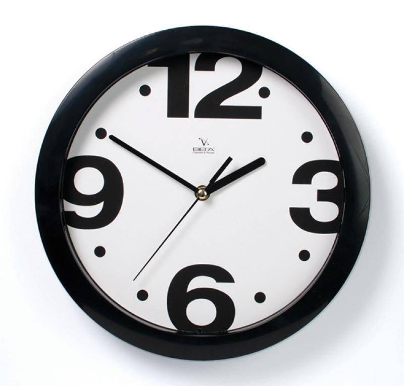черно белые настенные часы фотографии снимки