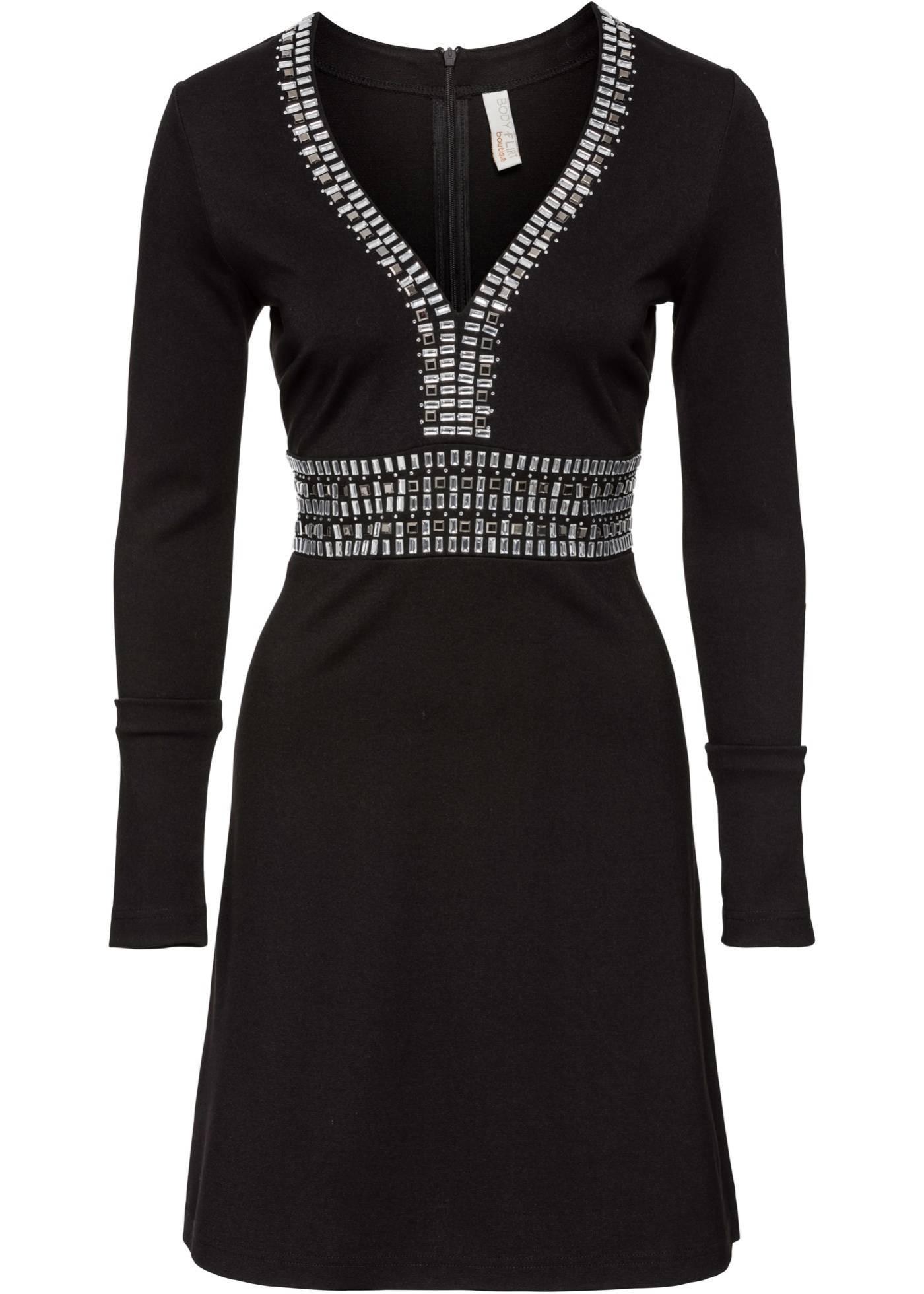 как украсить черное платье картинки